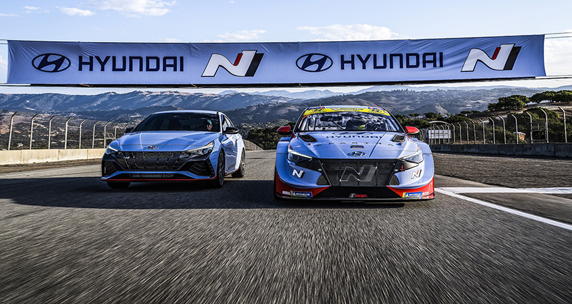 """Hyundai Has Plenty to be """"N-thusiastic"""" About After Monterey Weekend"""