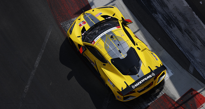 Torrid Taylor Takes Fifth Straight GTLM Pole in No. 3 Corvette