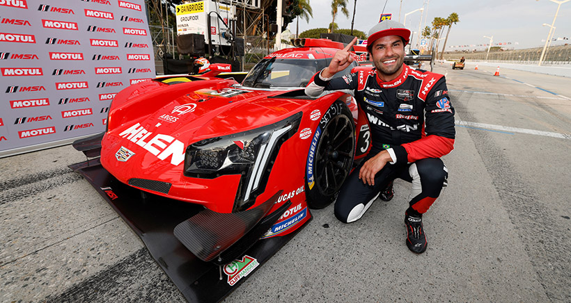 Nasr Leads Qualifying Sweep for Cadillac at Acura Grand Prix of Long Beach
