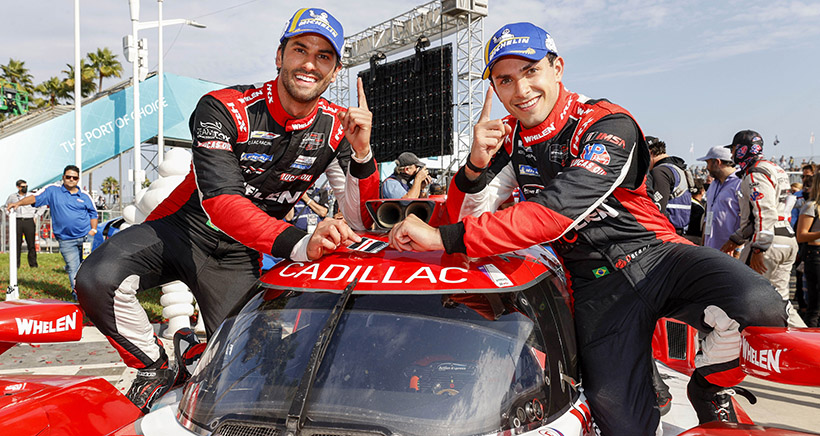 Acura Grand Prix of Long Beach Win for Nasr, Derani in No. 31 Cadillac Sets Stage for Season-Ending Title Fight