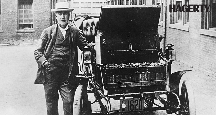Thomas Edison, a Man Ahead of his Time, Built his own Electric Car in 1912