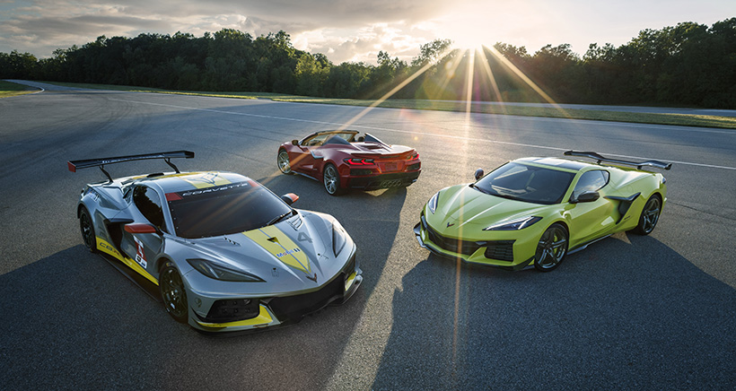 Corvette Draws on Racing Prowess for 2023 Z06 Model